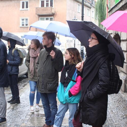Guided tour through Wrocław.